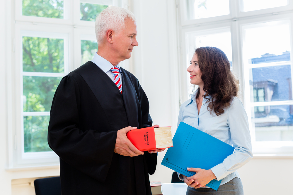 lawyer and paralegal
